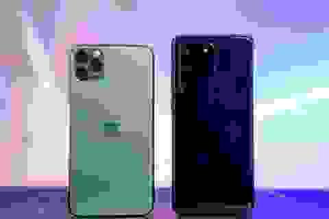 """Đọ tốc độ bộ đôi """"bom tấn"""" Galaxy S20 Ultra và iPhone 11 Pro Max"""