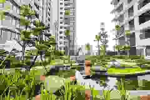 Chung cư sở hữu hệ sinh thái hoàn hảo giữa Thủ đô