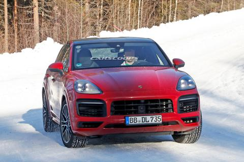 Phiên bản Porsche Cayenne Coupe GT mới sẽ chỉ kém Lamborghini Urus?
