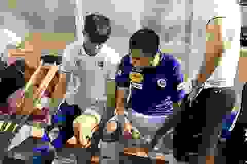 Duy Mạnh có nguy cơ vắng mặt ở trận đội tuyển Việt Nam đấu Malaysia