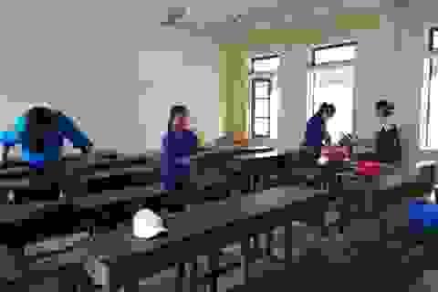 Hà Tĩnh: Trường học vệ sinh, khử trùng đón hơn 48.000 HS đi học hôm nay 2/3