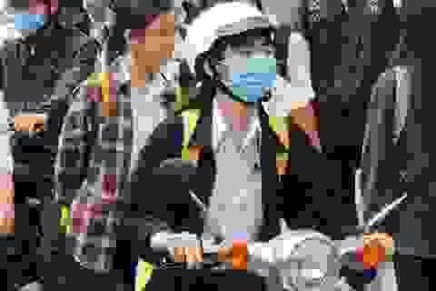 Khánh Hòa: Học sinh ngồi giãn cách 1,5m khi đi học trở lại sau nghỉ lễ 30/4