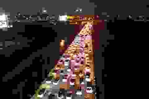 Hà Nội: Đường Vành đai 3 ùn tắc nghiêm trọng từ chiều đến đêm