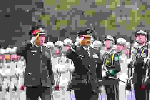 Tham mưu trưởng Liên quân Nhật Bản thăm chính thức Việt Nam