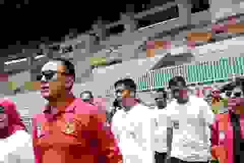 Đội tuyển Indonesia chờ chính phủ quyết hoãn hay không trận gặp Thái Lan