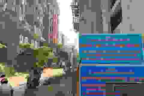 """TPHCM chỉ đạo cưỡng chế 17 công trình sai phạm tại """"phố nhà giàu"""""""