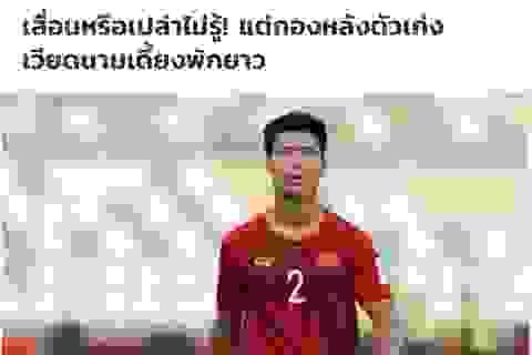 Báo Thái Lan hả hê trước nỗi đau của đội tuyển Việt Nam