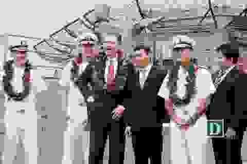 Nhóm tàu sân bay Mỹ bắt đầu chuyến thăm hữu nghị Đà Nẵng