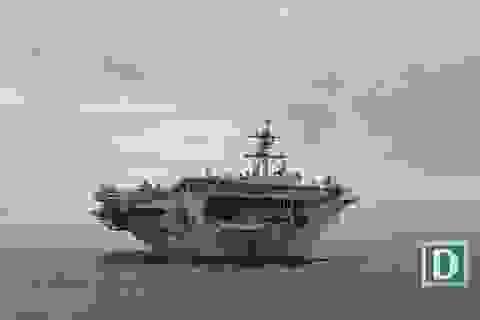 Tàu sân bay Mỹ thăm Đà Nẵng: Đô đốc Mỹ cảm ơn sự hiếu khách của Việt Nam