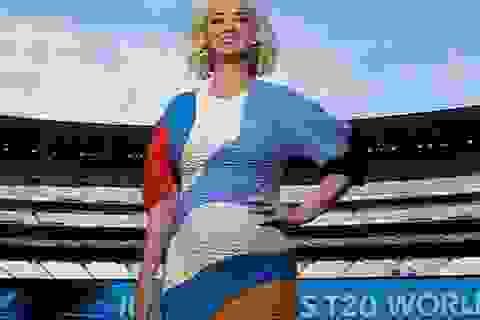 Katy Perry bế bụng bầu dự sự kiện