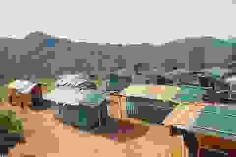 Quảng Ngãi: Vận động kinh phí xóa nhà bán trú container