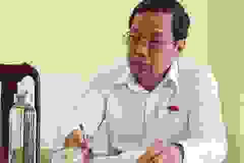 Kiểm điểm Chủ tịch huyện vụ giả mạo hồ sơ nhận trợ cấp chất độc hóa học