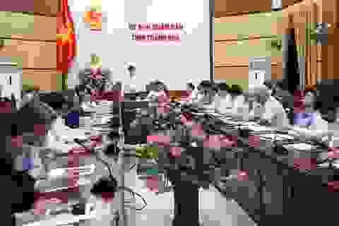 Thanh Hóa xem xét cho học sinh Mầm non đến THCS nghỉ học hết tháng 3