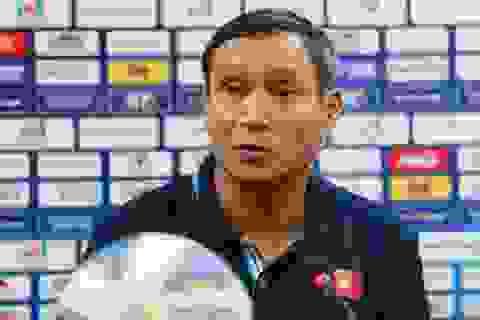 """HLV Mai Đức Chung: """"Tuyển nữ Việt Nam muốn có 1 bàn thắng trước Australia"""""""