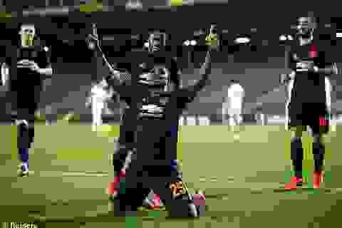 Đại thắng 5-0, Man Utd gần như chắc suất vào tứ kết