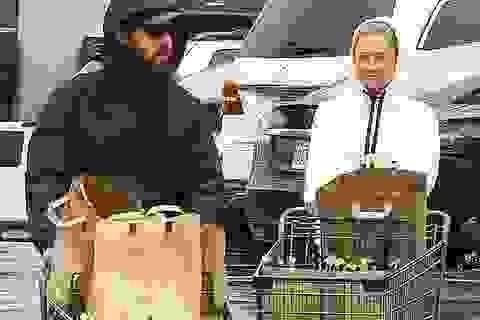 """""""Sao"""" Hollywood tích cực đi siêu thị giữa đại dịch"""