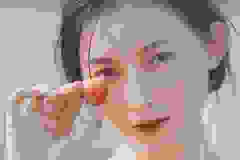 Xao xuyến vẻ đẹp trong veo như sương mai của cô gái Bắc Giang