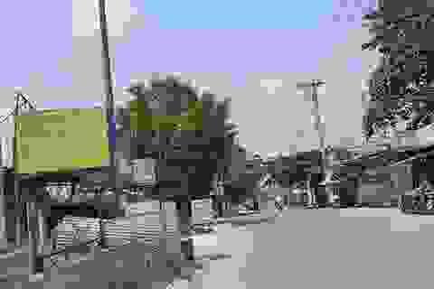 Cầu sắt chưa xong, giá đất quanh bến phà An Phú Đông đã tăng mạnh