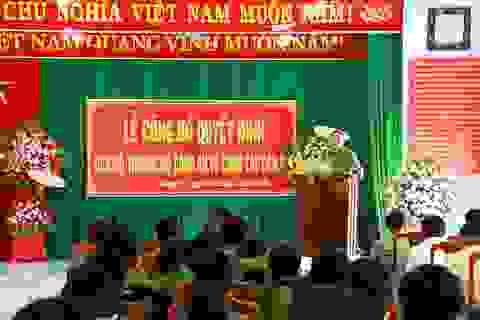 Điều động, bổ nhiệm hàng loạt cán bộ Công an tỉnh Thừa Thiên Huế