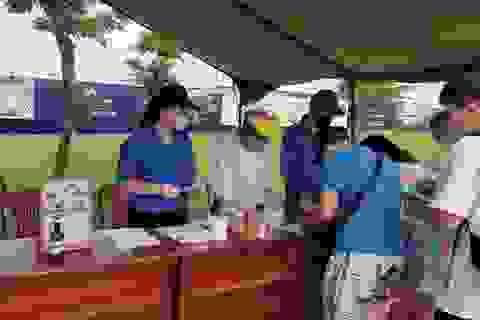 Đà Nẵng: Hàng trăm sinh viên tình nguyện phòng, chống dịch Covid-19