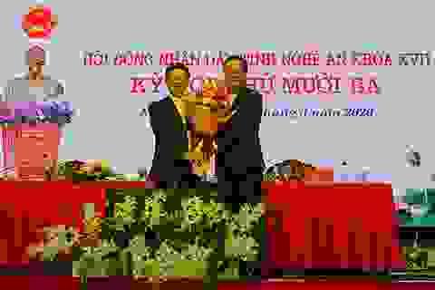 Nguyên Thứ trưởng KH-ĐT được bầu làm Chủ tịch UBND tỉnh Nghệ An