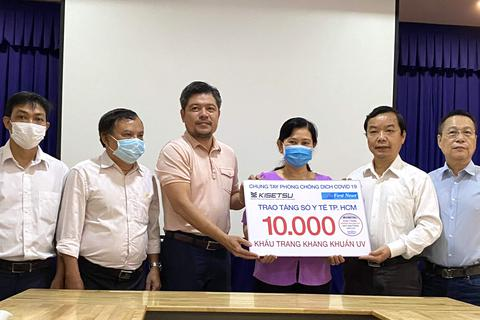 First News và Trúc Quang trao tặng 20 ngàn khẩu trang chống dịch Covid-19