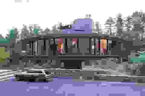 """Thú vị ngôi nhà kiểu """"tổ chim"""" có thể xoay 360 độ"""