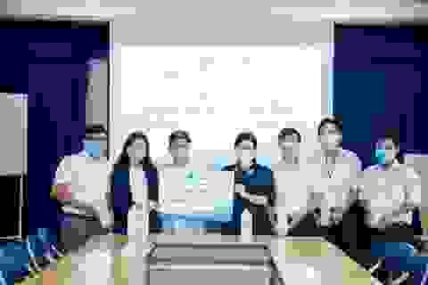 Lixco tặng thêm 3000l gel rửa tay khô ON1 cho Sở Y tế TP. HCM