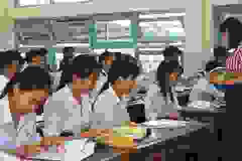 Bình Định: SV, học sinh THPT nghỉ học sau 3 tuần đi học trở lại