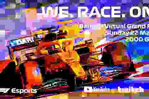 F1 tổ chức đua ảo