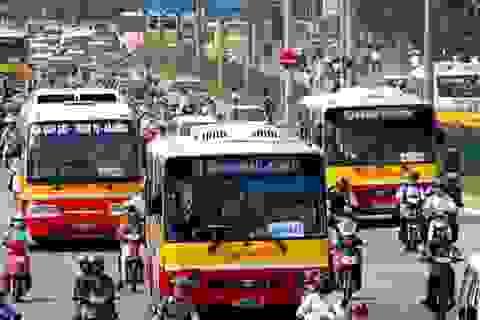 Hà Nội dừng hoạt động tất cả các tuyến xe buýt