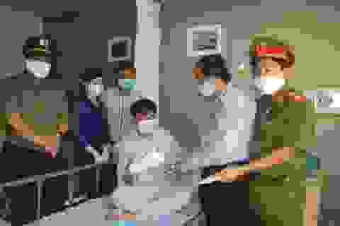 Bảo vệ dân phố bị trọng thương khi vây bắt tội phạm ma túy