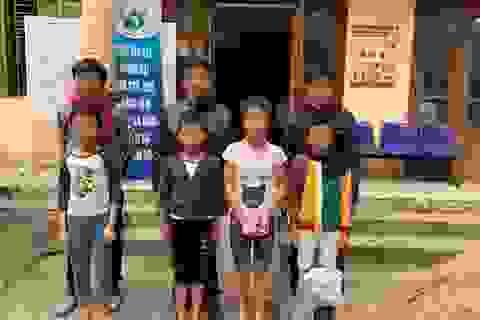 Trao trả về gia đình 5 trẻ lang thang ăn xin đường phố