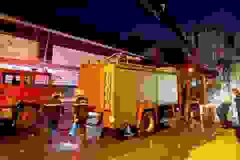 Cháy nhà gần chợ hóa chất Kim Biên, một phụ nữ tử vong