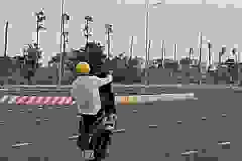 Nhiều thanh niên lợi dụng đường vắng để… đua xe