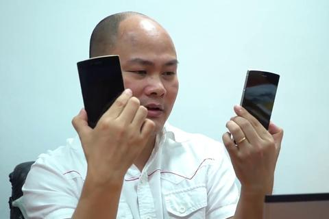 Bphone 4 có tên gọi chính thức là Bphone B86, không có phím bấm