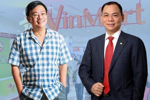 Ông Phạm Nhật Vượng lãi lớn từ thương vụ bán Vinmart cho Masan