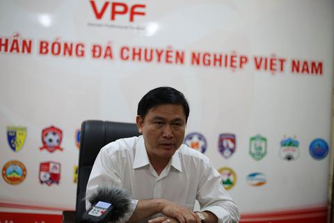 Chủ tịch VPF lên tiếng sau chỉ trích của bầu Đức