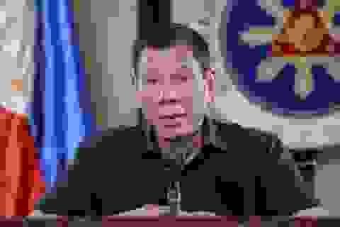 Tổng thống Philippines dọa bắn hạ người chống lệnh phong tỏa