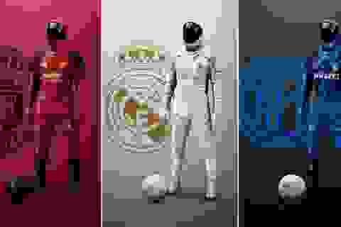 Bộ trang phục đặc biệt cho cầu thủ bóng đá mùa dịch Covid-19