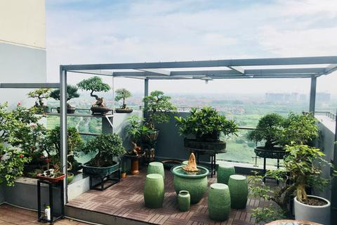 """Những căn penthouse sang trọng, với """"khu vườn trên mây"""" đẹp mê ở Hà Nội"""
