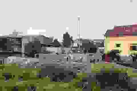 Xử phạt vụ lấn chiếm đất thuỷ lợi xây dựng móng nhà ở Quảng Bình!