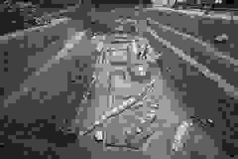"""Phát hiện dấu tích """"vườn thượng uyển"""" vùi sâu dưới Hoàng thành Thăng Long"""