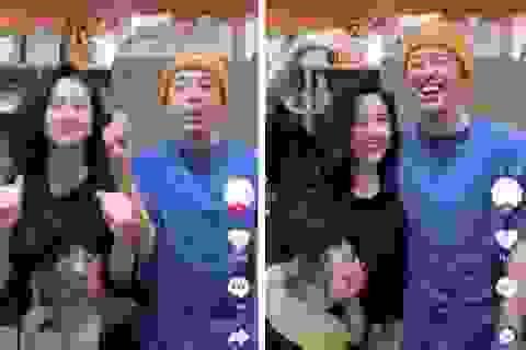 Hot girl Instagram Hàn Hằng và vlogger Huyme công khai bên nhau