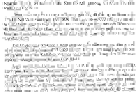 Cụ bà tử vong ở Bắc Ninh âm tính Covid-19