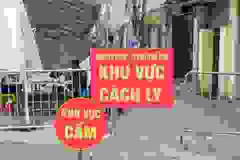 Mê Linh khẩn trương khoanh vùng F1, đến tận nhà dân thực hiện khai báo y tế