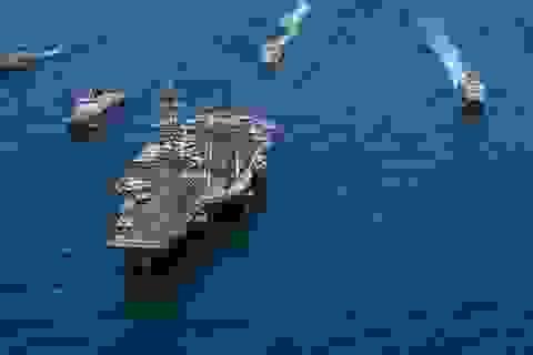 Hơn một phần ba tàu sân bay Mỹ bị ảnh hưởng bởi Covid-19
