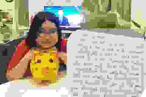 Bé 12 tuổi viết thư cảm động xin bố mẹ đập lợn ủng hộ tuyến đầu chống dịch