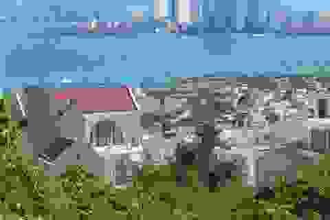 Nhiều biệt thự ở núi Cô Tiên hoàn thiện, bất chấp lệnh tạm dừng xây dựng