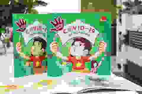 """Ra mắt sách """"Phòng tránh Covid-19 cho bé và gia đình"""""""